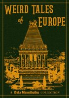 Weird Tales of Europe