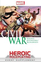 Marvel Heroic Roleplaying: Civil War Young Avengers / Runaways