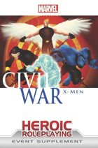 Marvel Heroic Roleplaying: Civil War X-Men