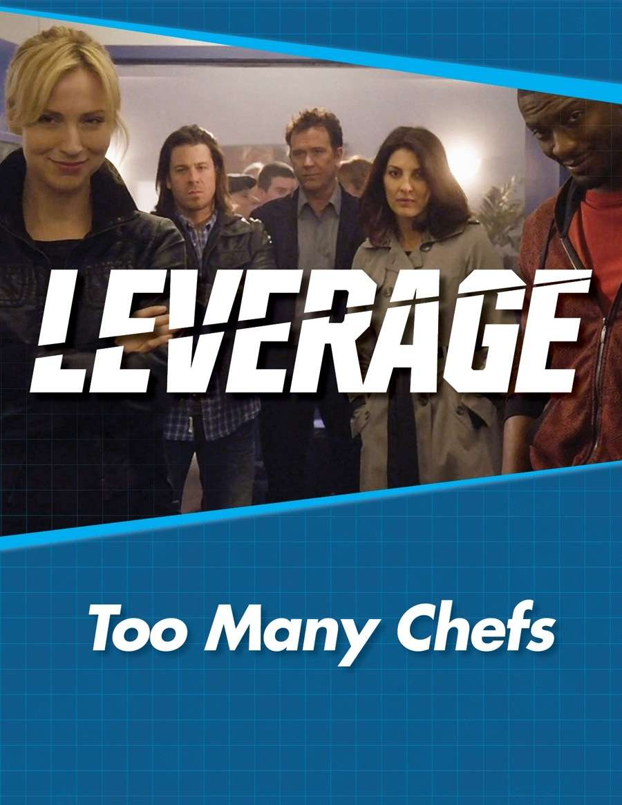 Titelbild Leverage Companion 1 - Too Many Chefs
