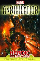 Marvel Heroic Roleplaying: Annihilation Event Book (Premium Edition)