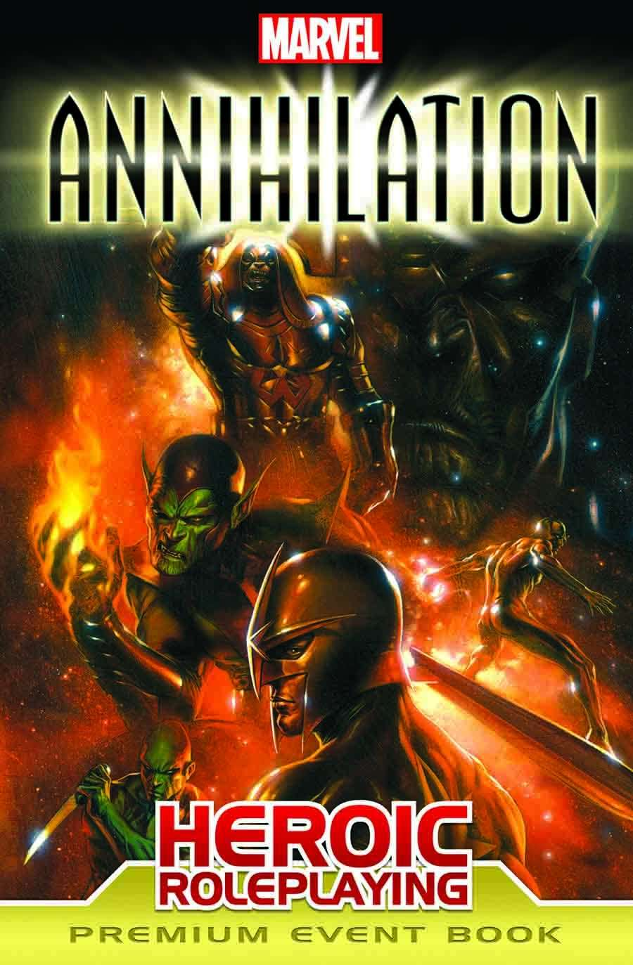 Marvel Heroic Roleplaying: Annihilation Event Book Premium Margaret Weis Productions and Various