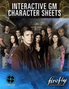 Firefly Interactive GM Character Sheets