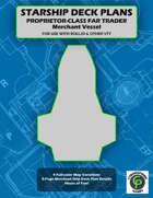 Proprietor-Class Far Trader Ship Deck Plans For VTT