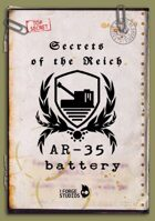 Secrets of the Reich - AR-35 battery