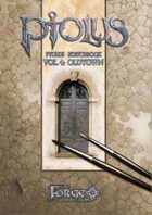 Ptolus Sketchbook vol. 4: Oldtown