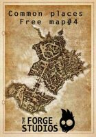 'Common places - free map#4'