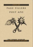 Page fillers - postapo