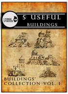 5 useful buildings vol. 1