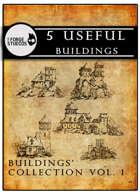 5 useful buildings vol. 1