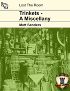Trinkets - A Miscellany Cover