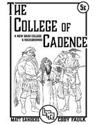 College of Cadence Cover
