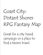Coast City Fantasy Map