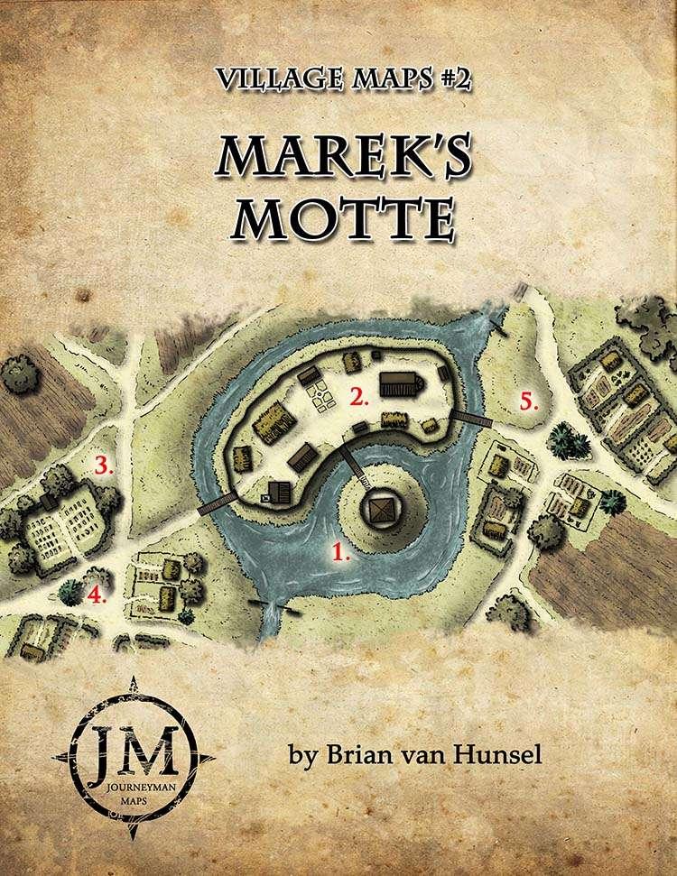 Marek's Motte - Village Maps #2