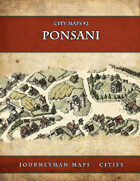 Ponsani - City Maps #2