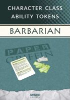 Class Ability Token Set: Barbarian