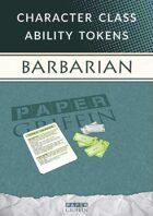 Class Ability Token Set: Barbarian