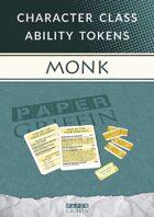 Class Ability Token Set: Monk