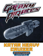Galaxy Pirates - Starships: Katar Heavy Cruiser