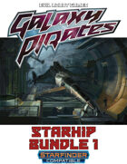 Galaxy Pirates Dozen Starships [BUNDLE]
