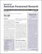 Journal of American Paranormal Research issue 4