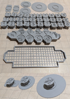 Miniature Base Risers - Mod(ular) Minis