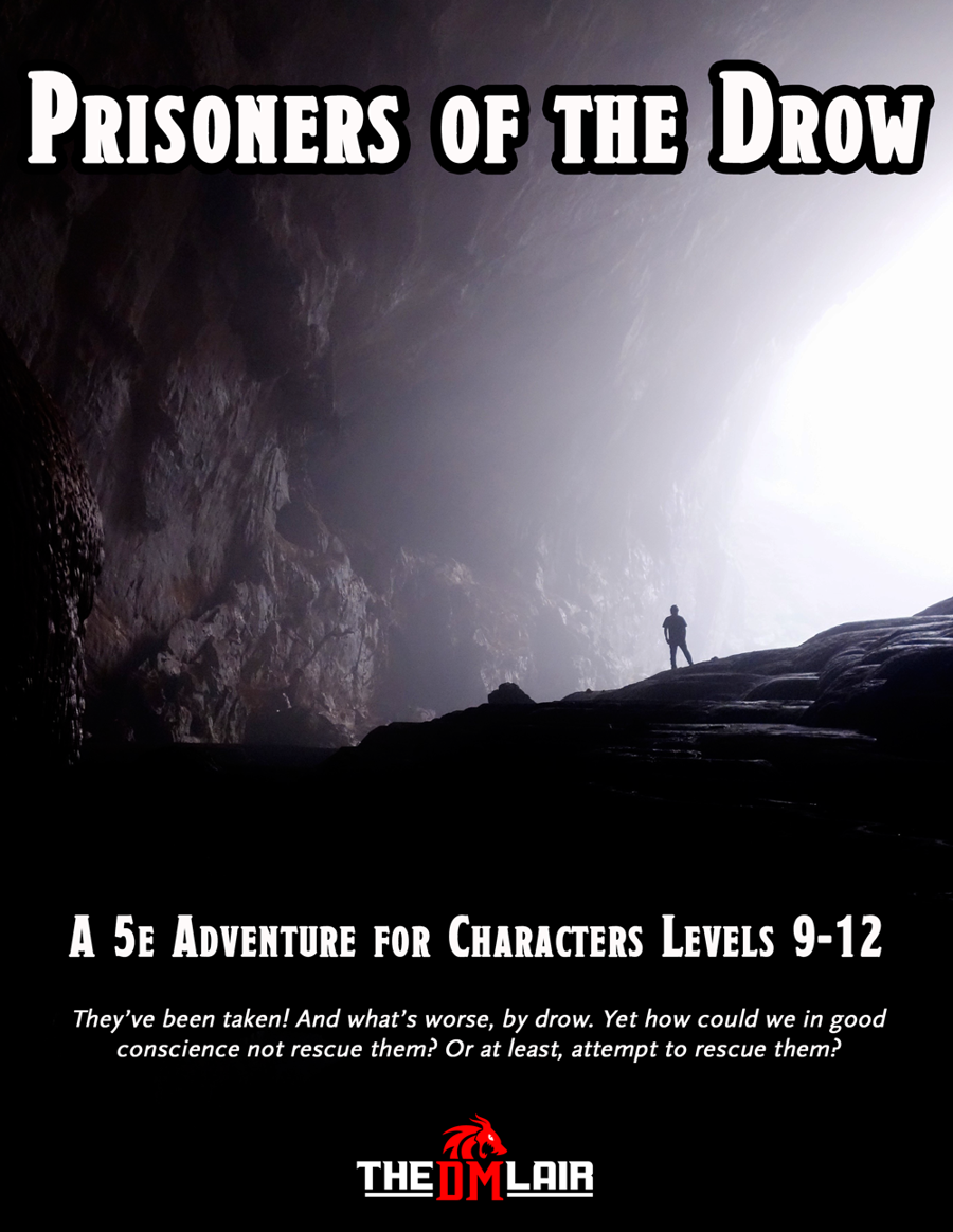Cover of Prisoners of the Drow
