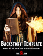 RPG Backstory Template