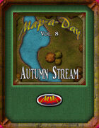 Map-A-Day 10/8/2017 Autumn Stream