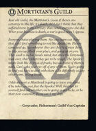 Morticians Guild All Cards