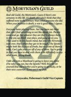 Morticians Guild Intro