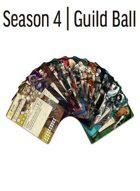 All Guild Ball Cards Season 4