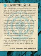 Navigators Guild All Cards
