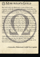 The Mortician's Guild All Cards [BUNDLE]