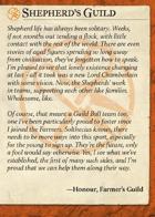 Shepherd's Guild Intro