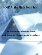 OSR At the High Point Inn