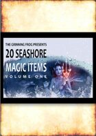 20 Seashore Magic Items