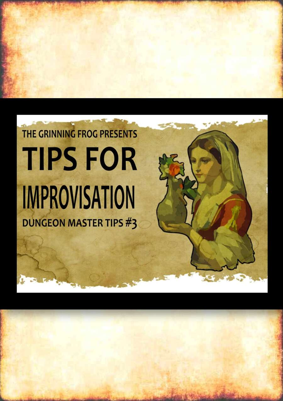 DM Tips for Improvisation