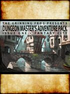 Dungeon Master's Adventure Pack Issue 01