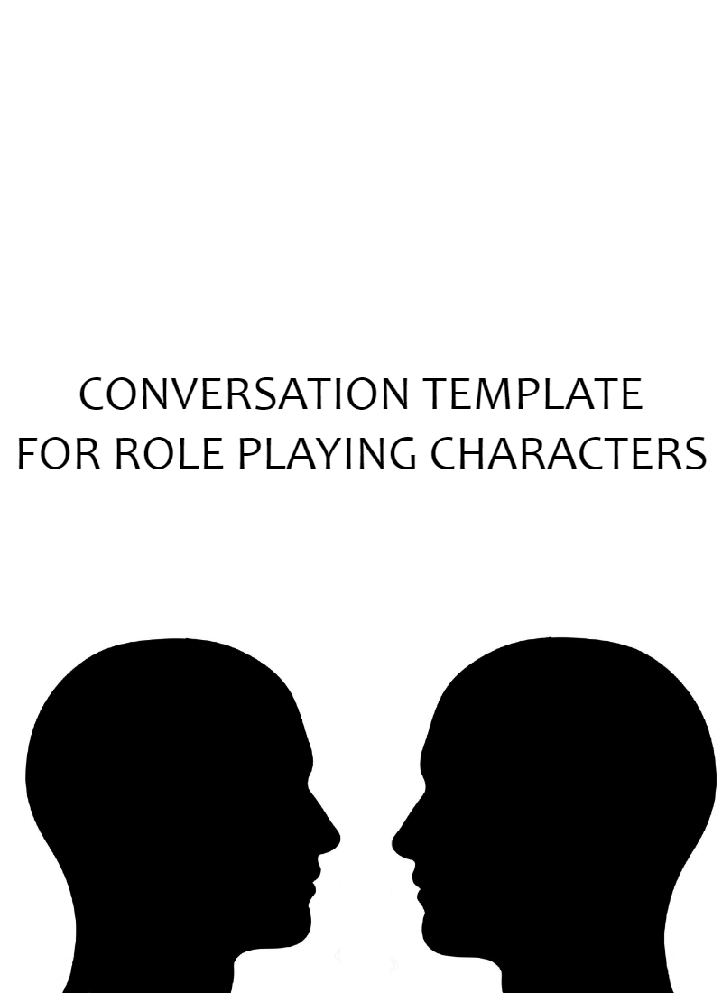 Conversation Guide for Role Playing Characters 3.0