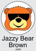 Jazzy Bear Brown