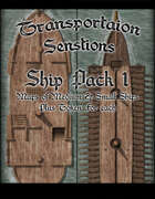 Transportation Sensations Ship Pack 1