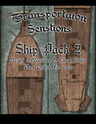 Transportation Sensations Ship Pack 2