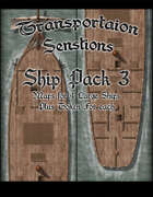 Transportation Sensations Ship Pack 3