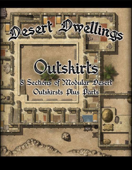 Desert Dwellings Outskirts