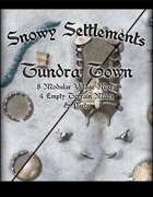 Snowy Settlements Tundra Town