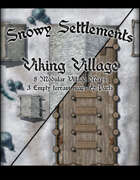 Snowy Settlements Viking Village