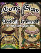 Game Glam Portrait Frames 1