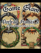 Game Glam Portrait Frames 2
