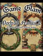 Game Glam Portrait Frames 2